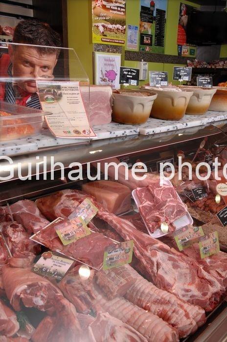 charcuterie de porc fermier