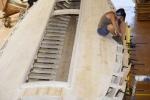 atelier des barques de paulilles cecile crochat pastor au travail